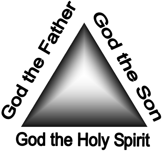 God the Father, God the Son, God the Holy Spirit